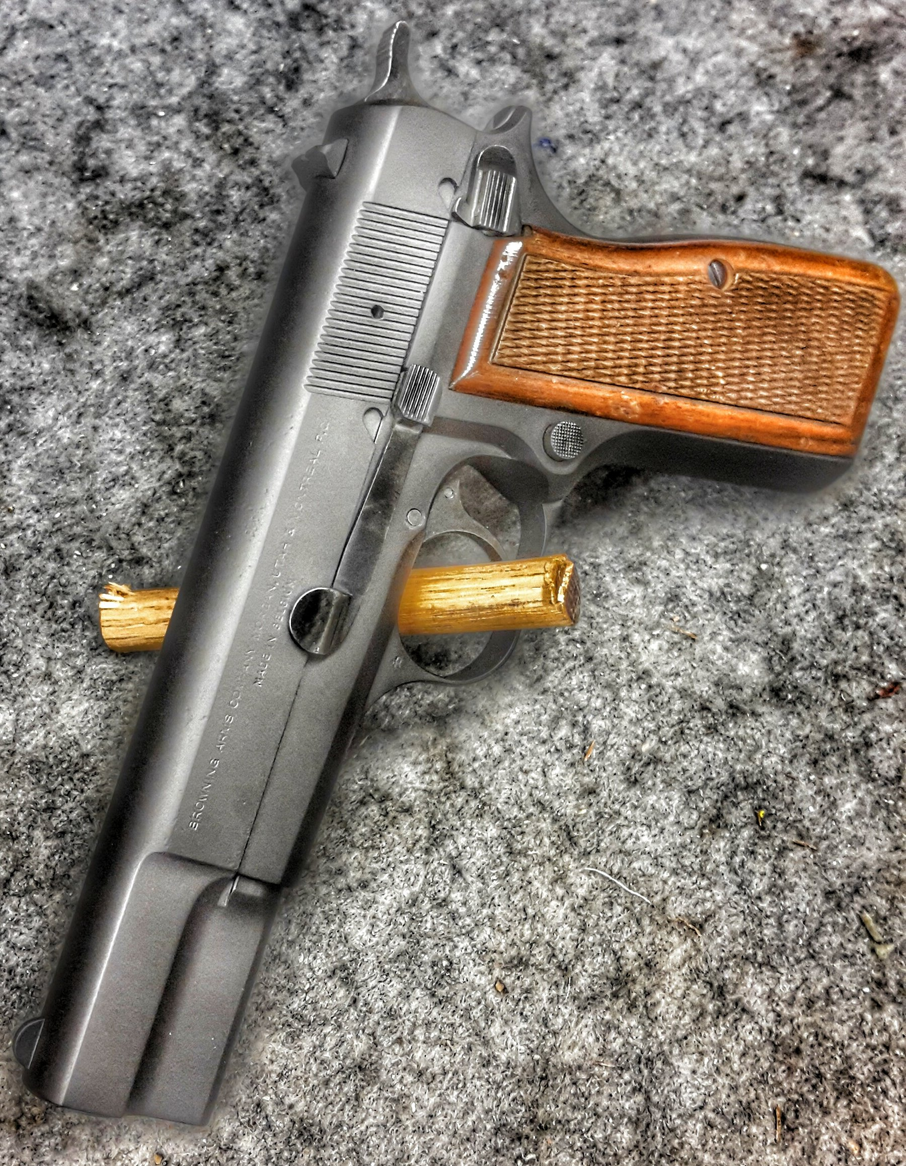 Cerakote black browning