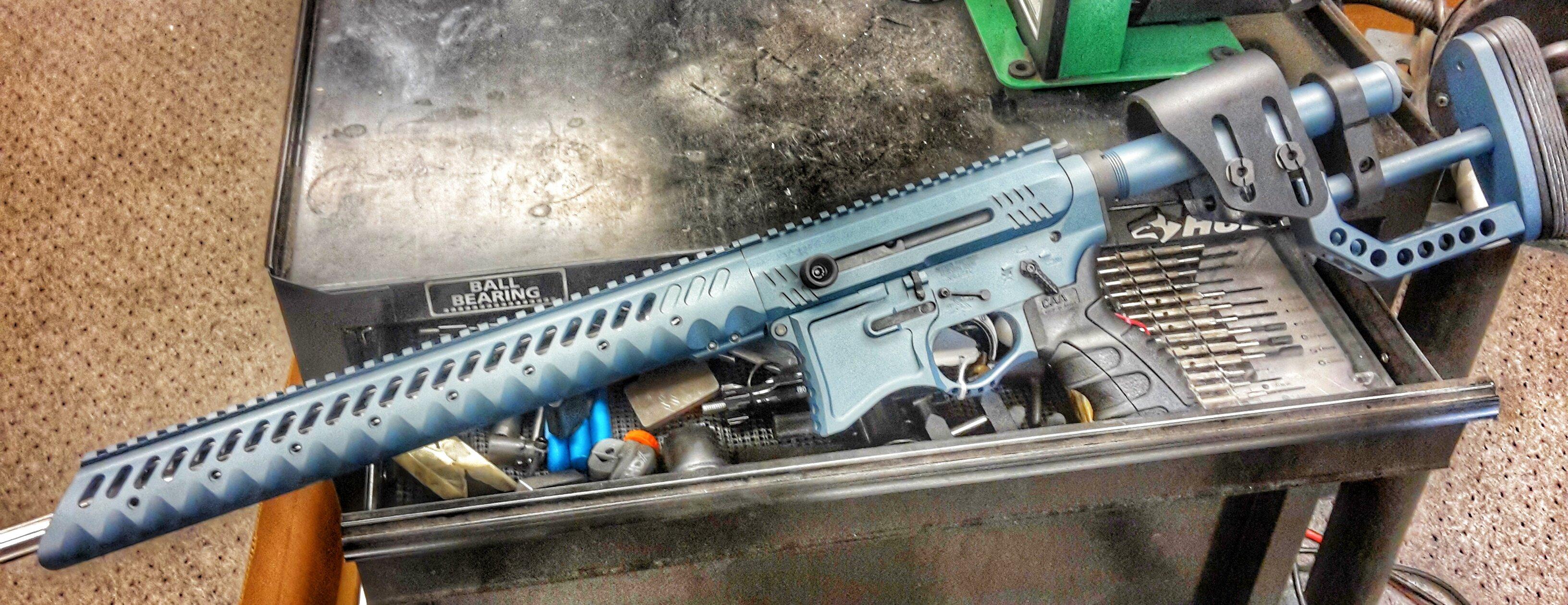 blue titanium ar 3